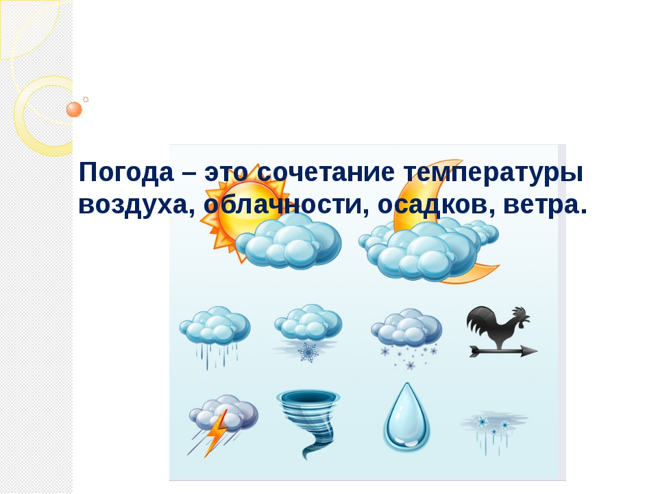 Погода — википедия. что такое погода