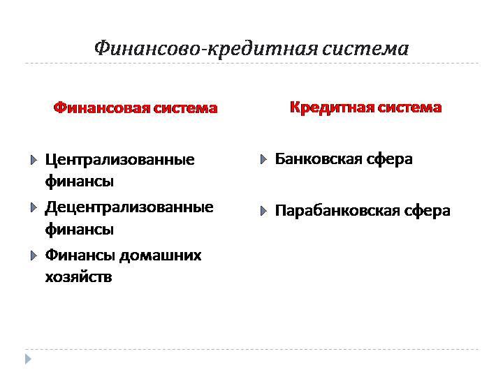2.финансы и финансовая система. финансы и кредит. учебное пособие