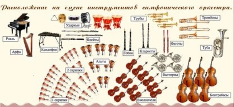 Структура и инструменты симфонического оркестра - muz-lit.info