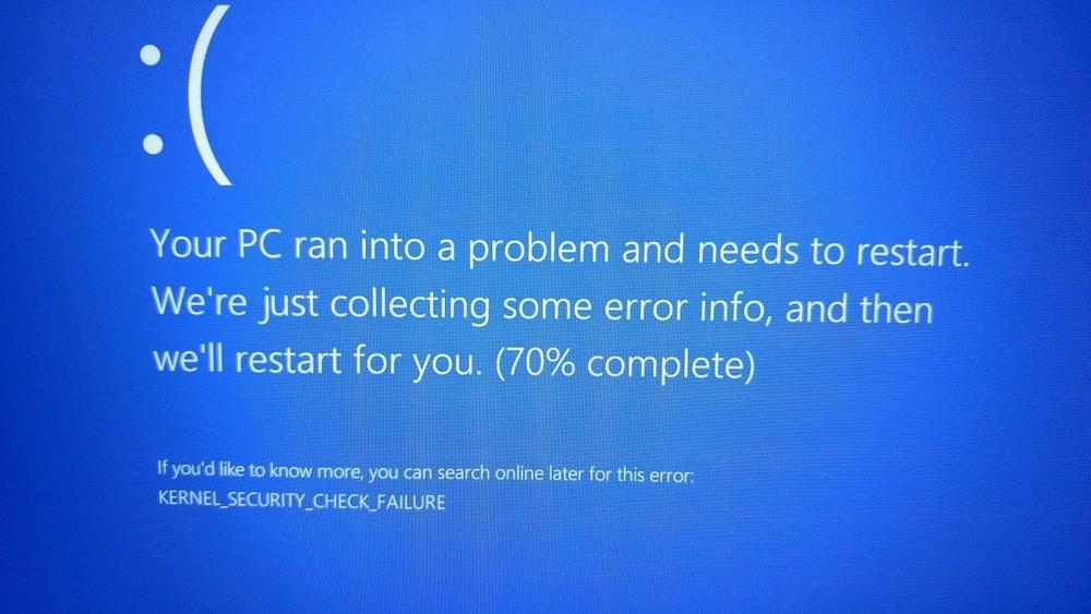 Kernel_security_check_failure: критическая ошибка в windows 10/8.1