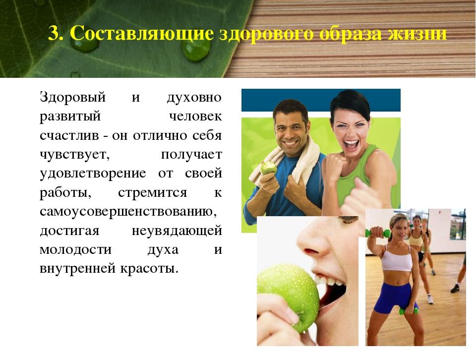 Что такое здоровый образ жизни (зож), его составляющие, советы для новичков