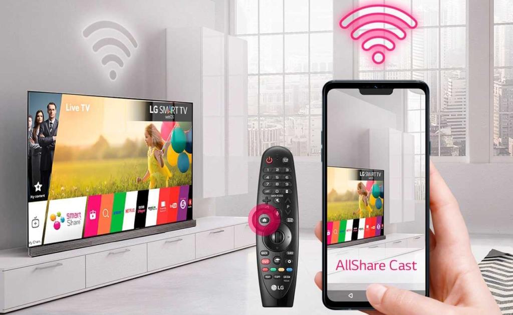 Как подключить iphone к смарт тв и передать видео или дублировать  экран? - вайфайка.ру