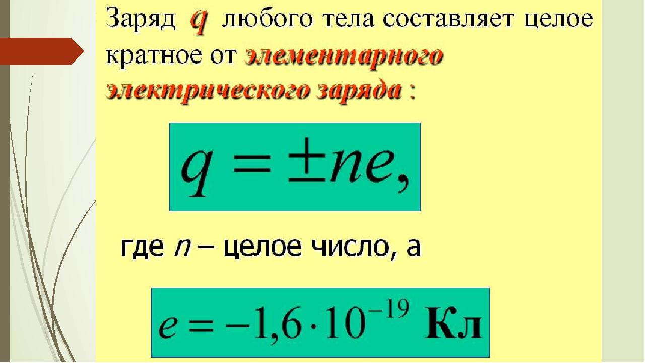 Что такое электрический заряд в каких единицах он измеряется