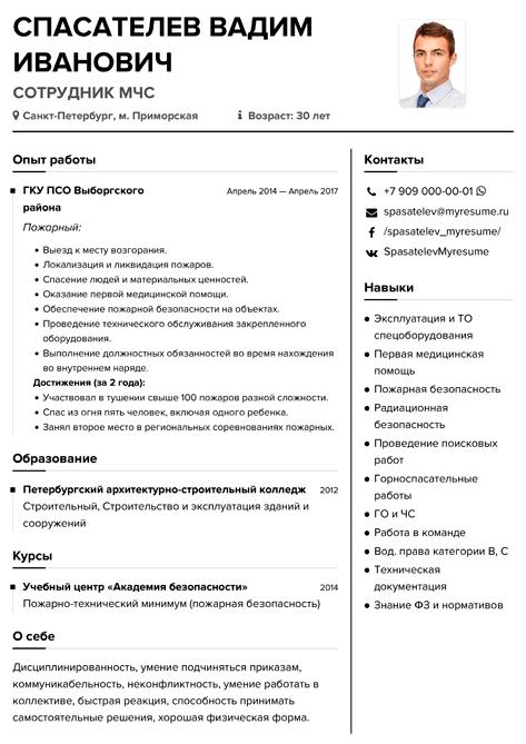 Составляем резюме по всем правилам (примеры резюме)