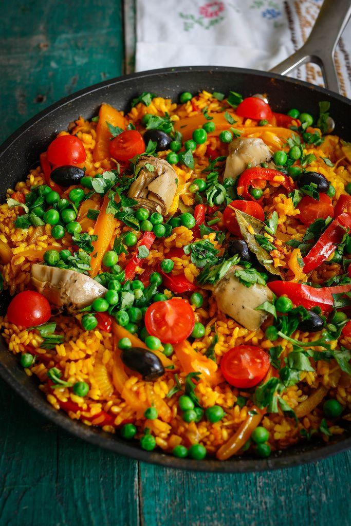 Овощная паэлья – кулинарный рецепт